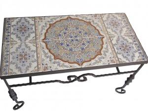 שולחן קרמיקה גדול בפירזול מיוחד