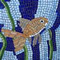 פסיפס דג זהב