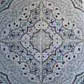 שולחן קרמיקה צבעוני דגם אותנטי - 4 אריחים